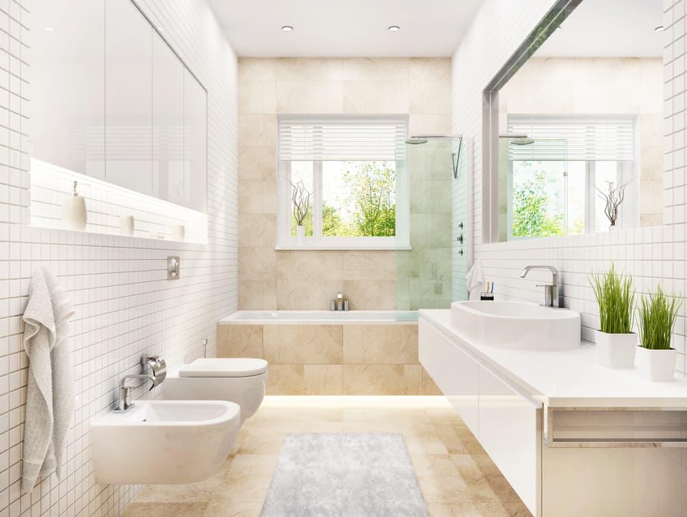 alcove bathtub