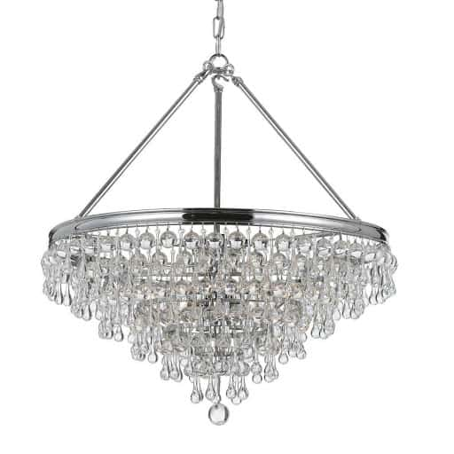Calypso Six Light Chandelier