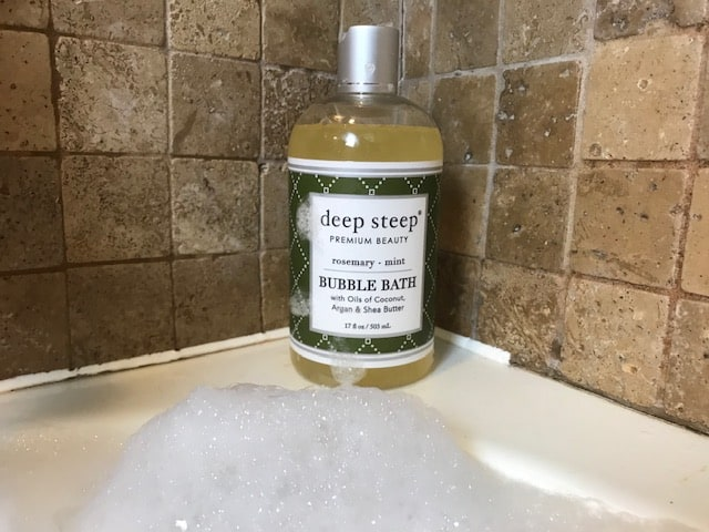 With your Jacuzzi Bath Mat try 1 capful ofDeep Steep Bubble Bath