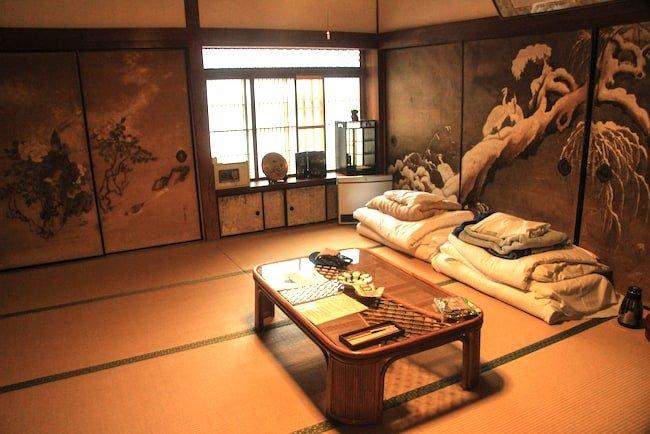guest room inside ryokan