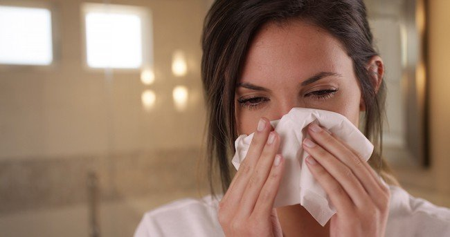 Hot Bath Benefits - Loosens Congestion