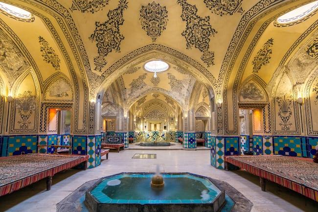 Historic Turkish bath in Iran