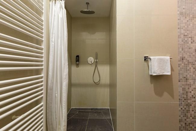 luxury hydronic towel warmer