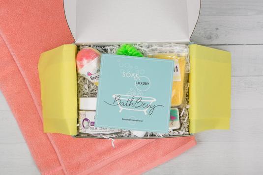 Bath Bevy Summer Sweetness Box