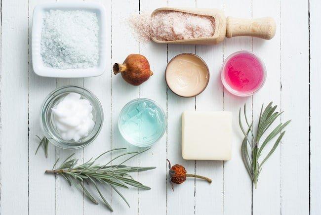 ingredients for bath salts