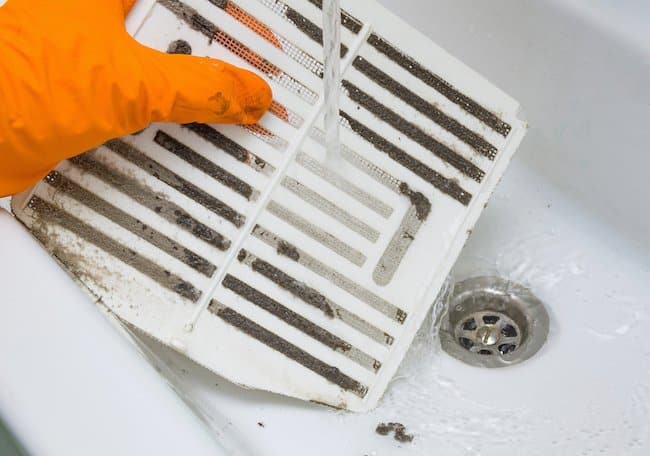 cleaning the bathroom fan reduces noise