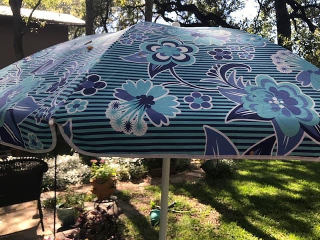 stock tank pool umbrella