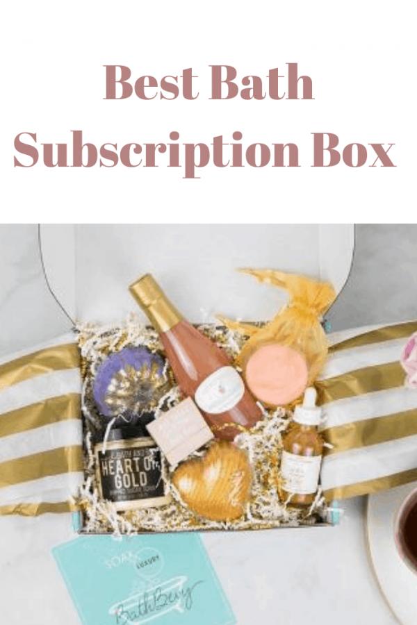 Best Bath Subscription Box